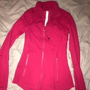 Red Lululemon Define Jacket